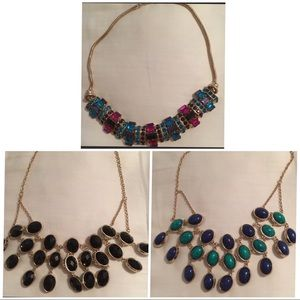 Set of two BEBE necklaces preowned
